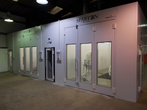 Paint Booths - Aylesbury